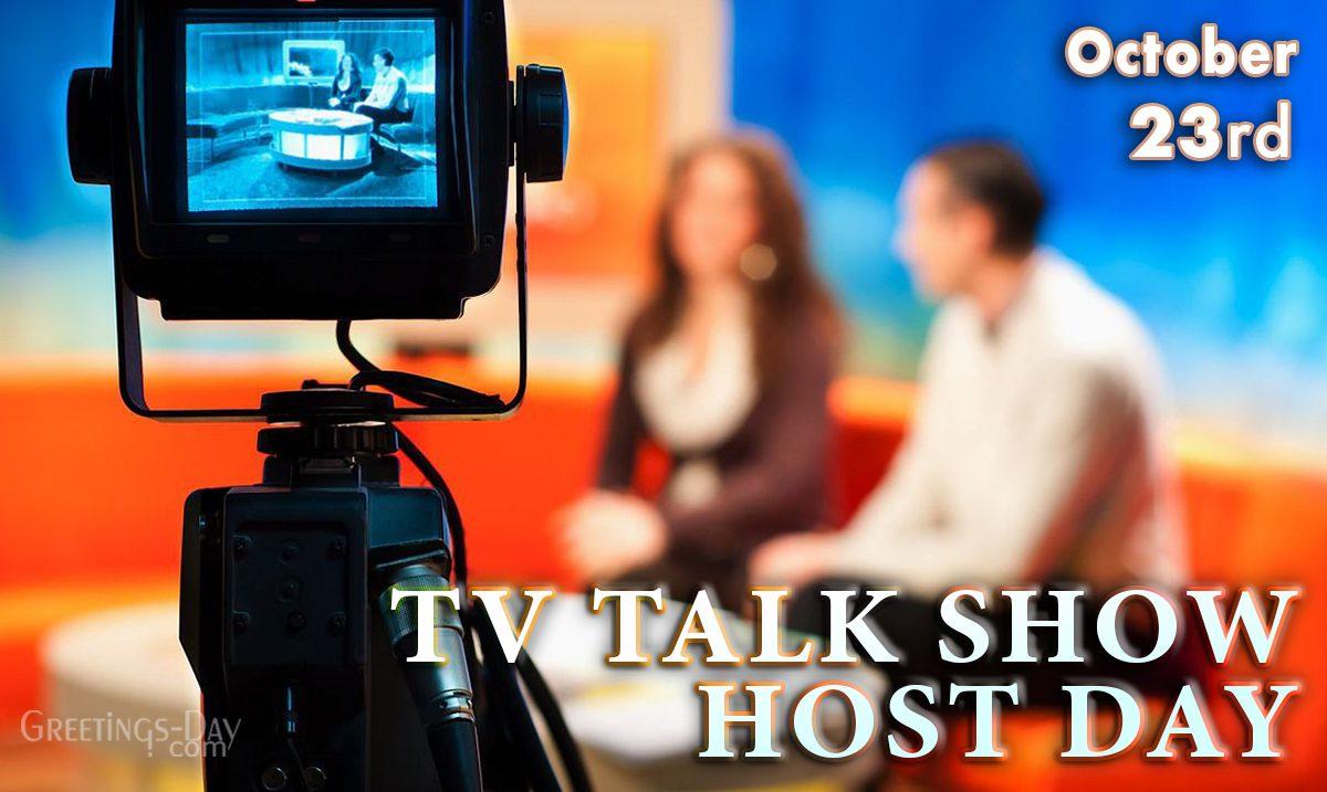 Tv Talk Show Host Day