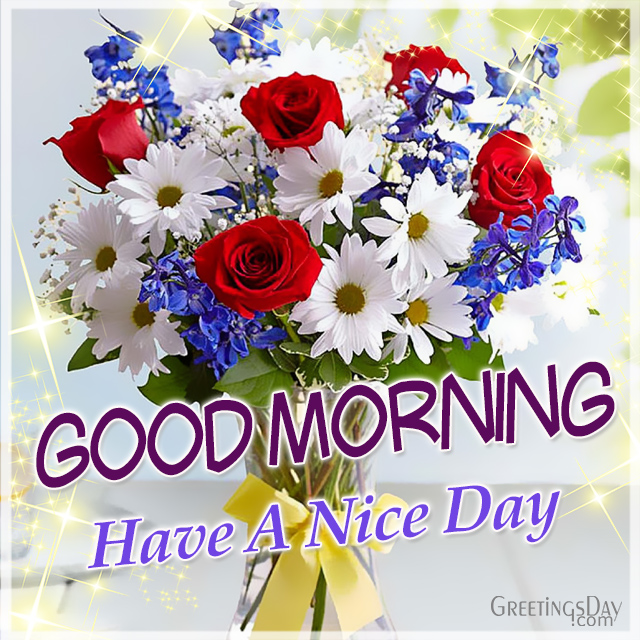 Good Morning Image Congrat To Have A Nice Day Cards Pictures