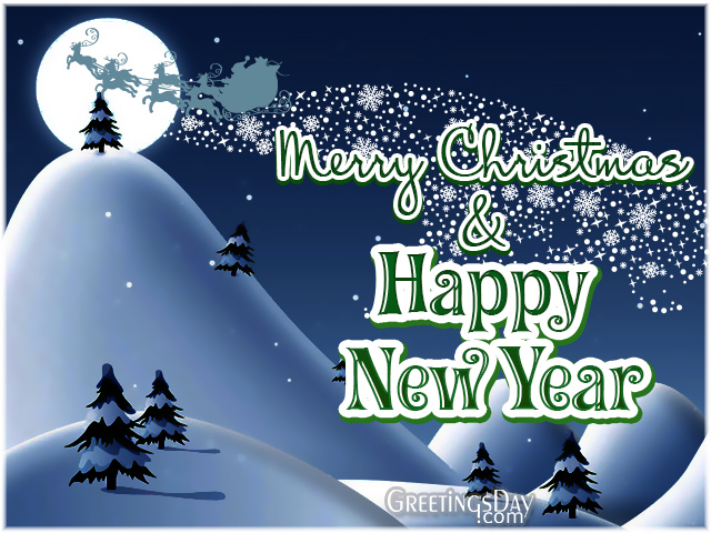 Merry Christmas and Happy New Year Dear Friends