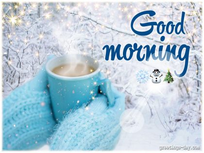 Good Morning Winter Wishes
