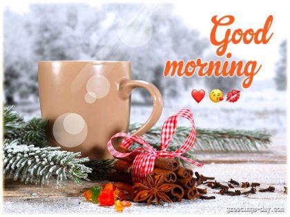 Good morning honey ❤