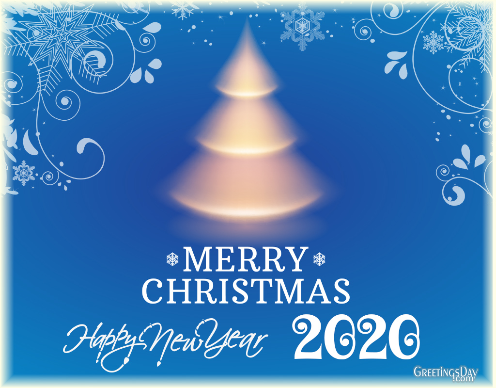 Merry Christmas and a wonderful New Year!