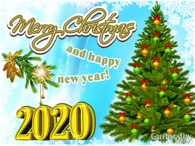Xmas Happy New Year 2020