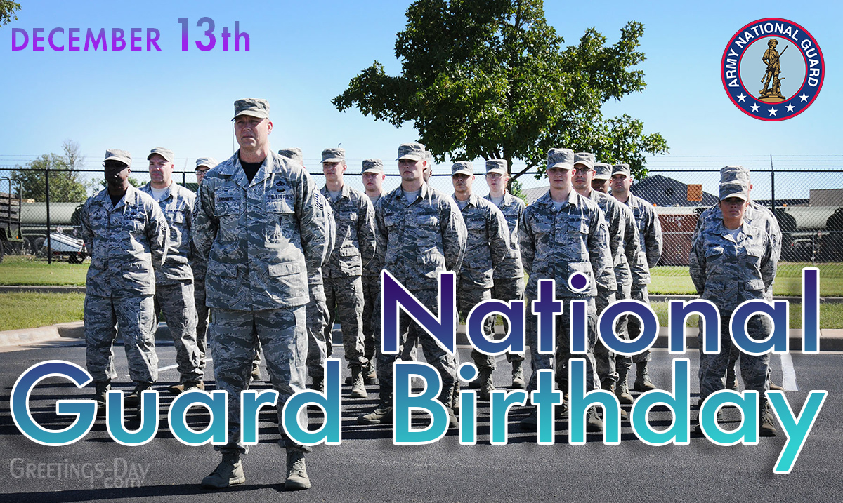 National Guard Birthday