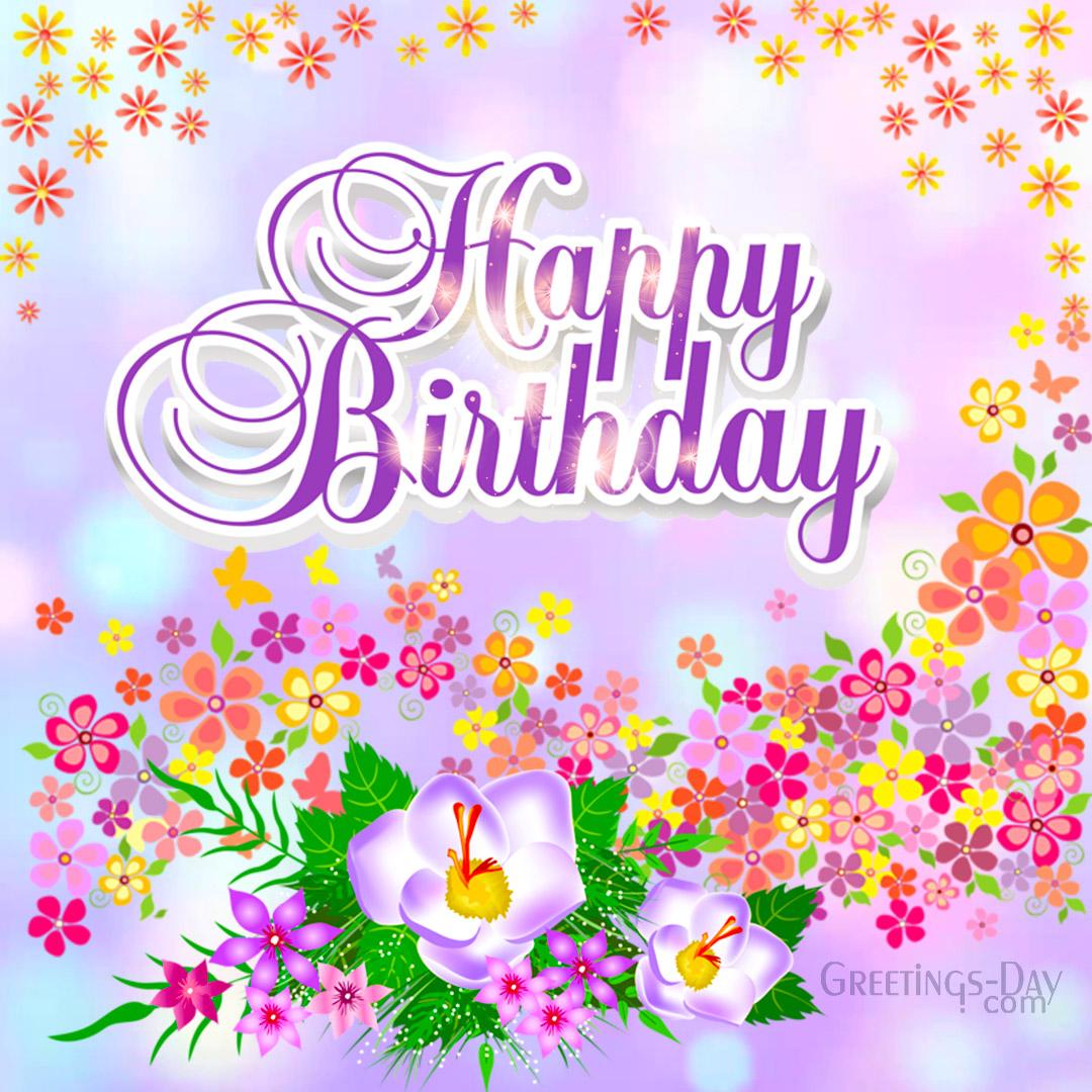 Spring Birthday Wishes!