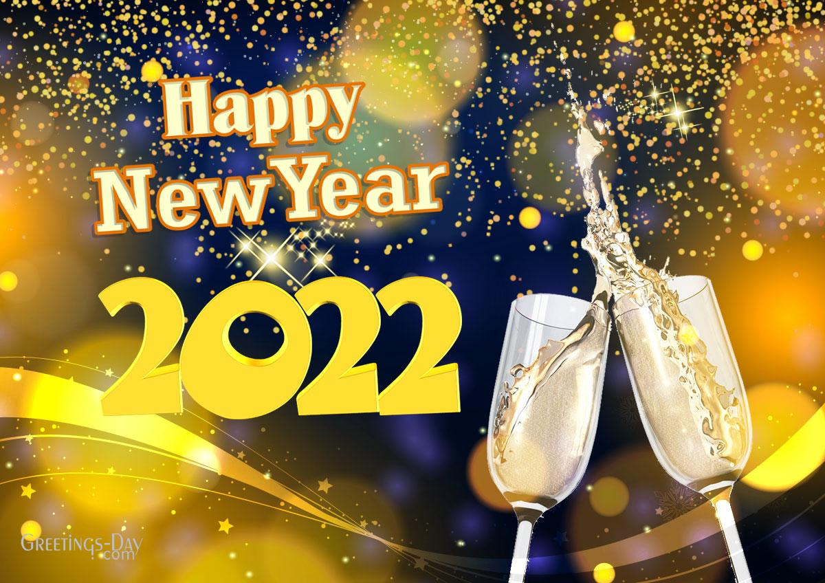 Congrat with Happy New Year 2022