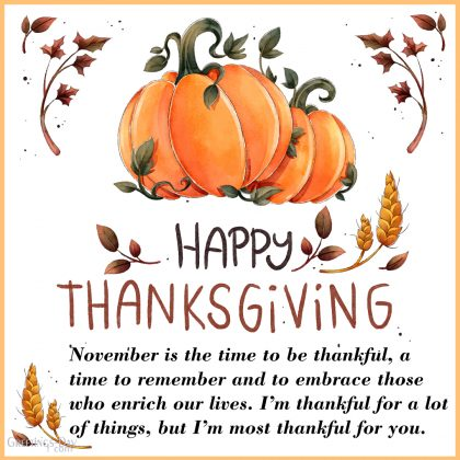 Thanksgiving Day wishes